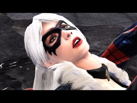 Spider Man Web of Shadows Walkthrough Part 37 Cat Fight Spider Man Vs. Symbiote Black Cat