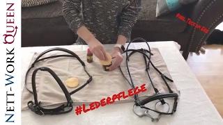 Pferde Pflege für Ledertrensen und Ledersättel Effax Lederpflege