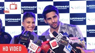 Sidharth Malhotra And Jacqueline Fernandez About Their Upcoming Movie