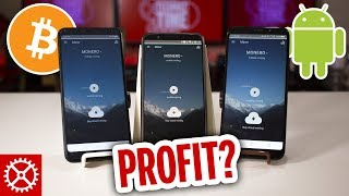 Is Android Mining Cryptocurrency Profitable?