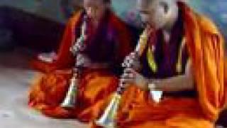 Bhutanese monks