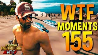 PUBG WTF Funny Moments Highlights Ep 155 (playerunknown