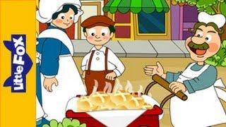 Hot Cross Buns | Nursery Rhymes by Little Fox