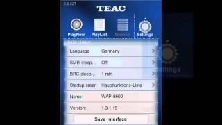 Video Tutorial for TEAC myWAP APP