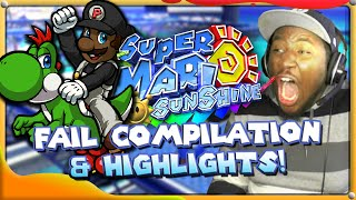 Super Mario Sunshine 100% - Fail Compilation & Viewer Highlights!