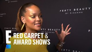 Rihanna Talks New Fenty Beauty Line at NYFW | E! Live from the Red Carpet