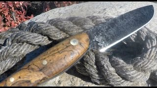 Making a Knife from Fish Hooks.