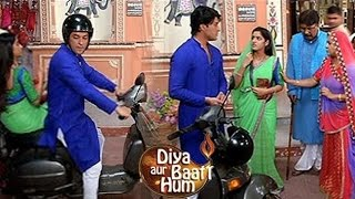 Sooraj & Sandhya Meet With An Accident | Diya Aur Baati Hum | On Location Interview | TV Prime Time