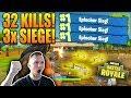 3x IN FOLGE SOLO GEWONNEN + 3 SCAR ZUM START | 32 Kills ingesamt! | Fornite Battle Royale