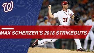 Scherzer strikes out 300 batters in 2018