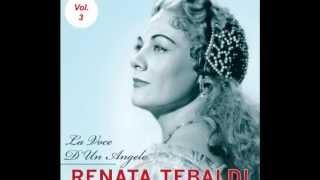 Renata TEBALDI. Visi d' arte. Tosca. Carnegie Hall 1955.