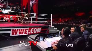 WWE Raw 07/22/13 Miz TV - Cast Of Total Divas [HD]