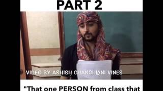Ashish chanchlani vines..exam situation part 2