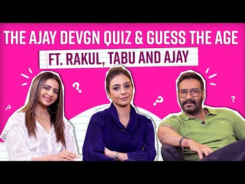 Xxx Mp4 Ajay Devgn Tabu Rakul Play 39 Guess The Age 39 And Take The Ultimate Ajay Devgn Quiz 3gp Sex