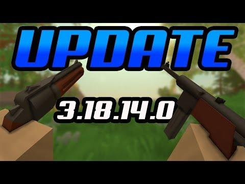 2 NEW Weapons in Unturned- MP40 & Determinator - Update 3.18.14.0