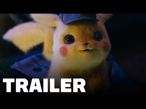 Pokémon Detective Pikachu Trailer 2019 Ryan Reynolds Justice Smith Ken Watanabe