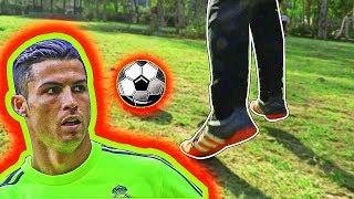 HOW TO PLAY LIKE RONALDO 2018 | CR7 FOOTBALL SKILLS | DRIBBLE LIKE CRISTIANO RONALDO TUTORIAL