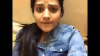 Gorgeous Srimukhi funny Dubsmash video