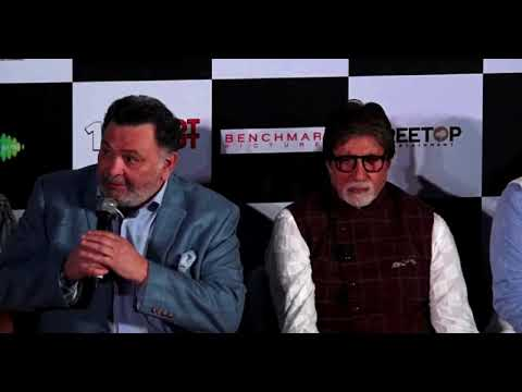 Latest Bollywood News -Amitabh & Rishi At Song Launch Of Film 102 Not Out- Bollywood Gossip 2018