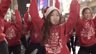 KPOP CHRISTMAS FLASH MOB BY I LOVE DANCE