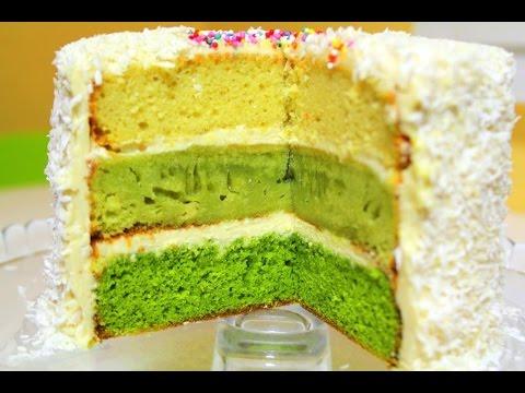 Разноцветные коржи для торта рецепт пошагово