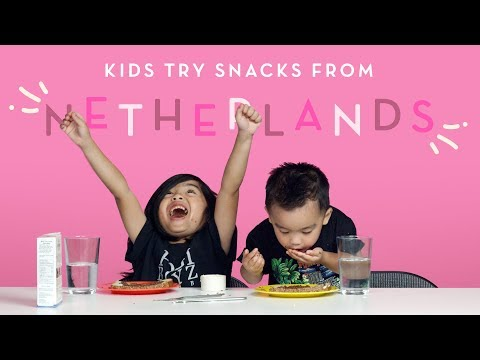 Snacks from the Netherlands Kids Try HiHo Kids