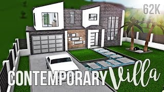Bloxburg: Contemporary Villa 62K