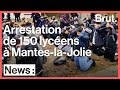 Download Video Download Mantes-la-Jolie : les images de l'arrestation par la police de 150 élèves du lycée Saint-Exupéry 3GP MP4 FLV