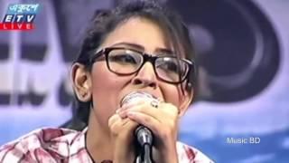 HDsar com o pagol mon monre mon keno eto kotha bole Bangla Heart Touching Song by Marzia Turin Live