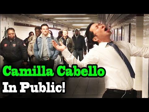 Download CAMILA  CABELLO - Never be the Same - SINGING IN PUBLIC!! free