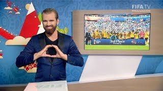 FIFA WC 2018 - BEL vs. ENG – for Deaf and Hard of Hearing - International Sign