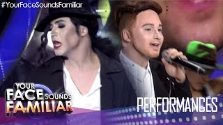 Your Face Sounds Familiar: Sam Concepcion as Michael Jackson and Justin Timberlake