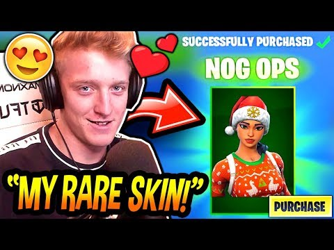 Tfue BUYS & LOVES His RARE NOG OPS SKIN FINALLY Fortnite FUNNY & EPIC Moments