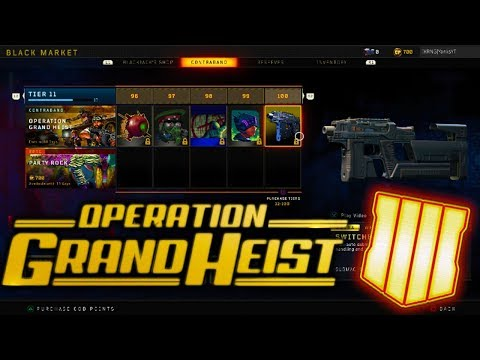 Xxx Mp4 ALL 100 TIERS In The NEW OPERATION GRAND HEIST EVENT ALL NEW DLC WEAPONS BLACKOUT CHARACTERS 3gp Sex
