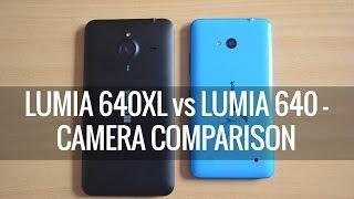 Lumia 640XL vs Lumia 640- Camera Comparison | Techniqued