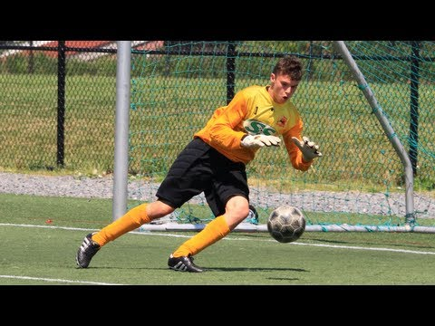 Goalkeeper Christian Oxner - U17 Toronto FC Academy Trial - Feb 2013 - SeriousGoalkeeping.net