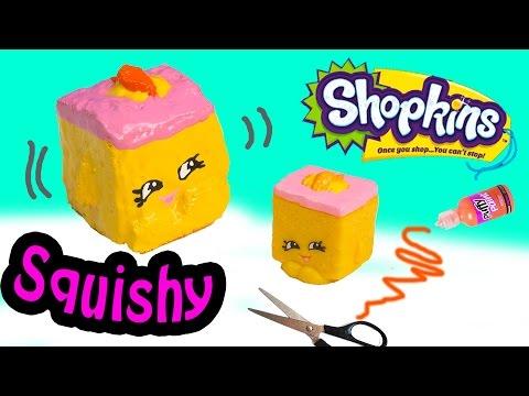 Diy Squishy Eraser : DIY Craft Squishy Shopkins Season 3 Special Edition Rita Ruler Make & Do It Your Self How To ...