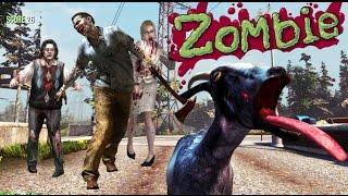 ZOMBIES Y LA CABRA MAGICA! - Goat Simulator - NexxuzHD