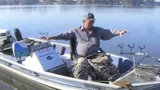 Woody Wood fishing Lake Blackshear