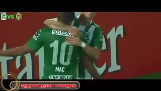 Atletico Nacional 3 X 1 Rosario Central Gols  - Copa libertadores 2016