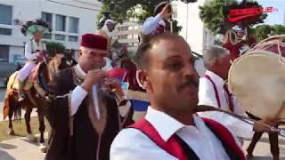 يوم ترويجي للمولد النبوي الشريف بالقيروان في شارع الحبيب بورقيبة بالعاصمة