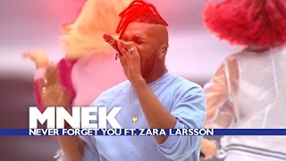 MNEK feat. Zara Larsson - 'Never Forget You' (Live At The Summertime Ball 2016)