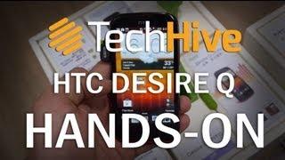 HTC Desire Q mit 1Ghz Prozessor und 4 Zoll Display (1080p/FullHD)