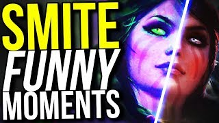 THE MORRIGAN 4V5 CARRY! - SMITE FUNNY MOMENTS
