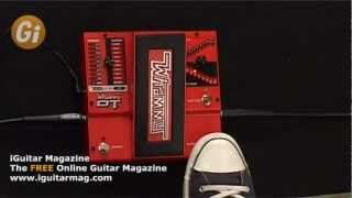 Pedal Review - Digitech Whammy DT Pedal Demo with Jamie Humphries Guitar Interactive Magazine