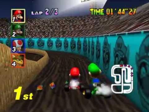 Mario Kart 64 Walkthrough Gameplay Nintendo64 HD1080p
