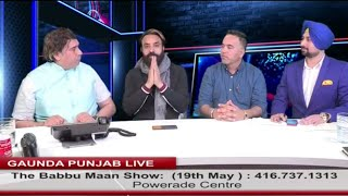 Babbu+Maan+Latest+Full+Interview+%7C+Gaunda+Punjab+%7C+BBC+Toronto+2018