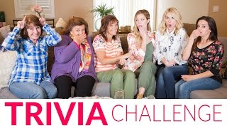 Mother & Daughter Trivia | The Mom's View