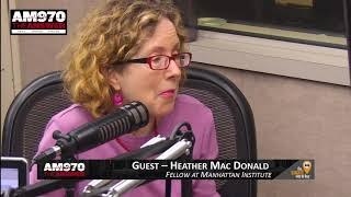 Heather Mac Donald - Interview - Piscopo In The Morning 1-23-18 AM 970 The Answer