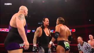 FULL LENGTH MATCH   Raw   John Cena & The Undertaker vs  DX vs  Jeri Show
